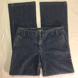 Ann Taylor Size 6 Boot Cut Low Rise Jeans